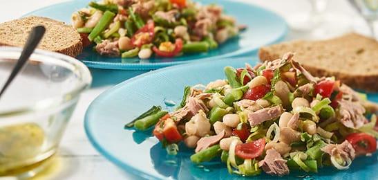 Een duurzame salade van tonijn met Keltisch zeezout: lekker en gezond!