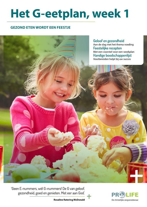 Download hier gratis het G-eetplan voor gezond eten (200 recepten, zonder e-nummers). Eet smakelijk!