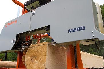 Timbery M280 Portable Sawmill