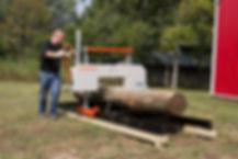 Timbery M100 Sawmill