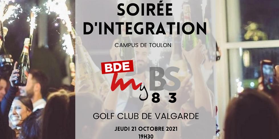 Soirée d'Intégration : Campus de Toulon