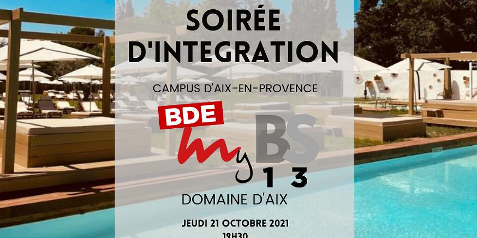 Soirée d'Intégration : Campus d'Aix en Provence
