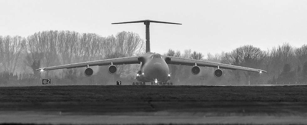 C-5 Galaxy RAF Mildenhall