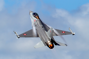F-16 scramble