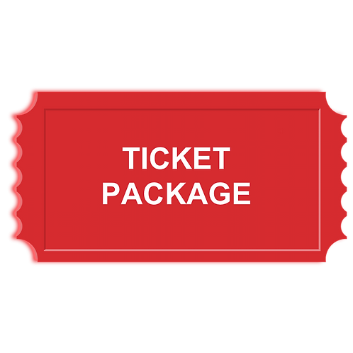 Ticket Package (Available by pre-sale only)