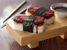 SPAM + Sushi MO!