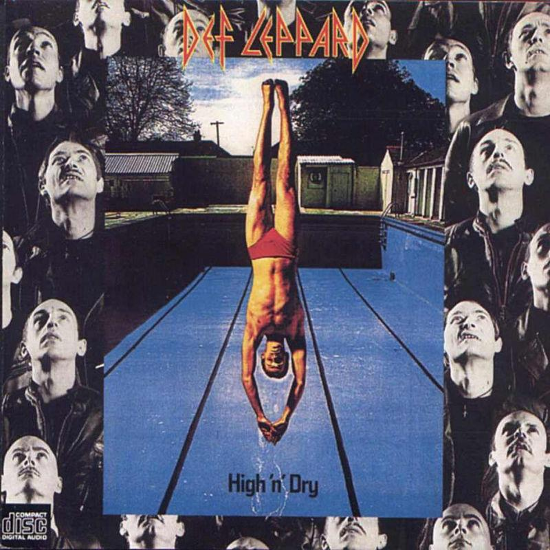 Def Leppard - High `n` Dry (Front)