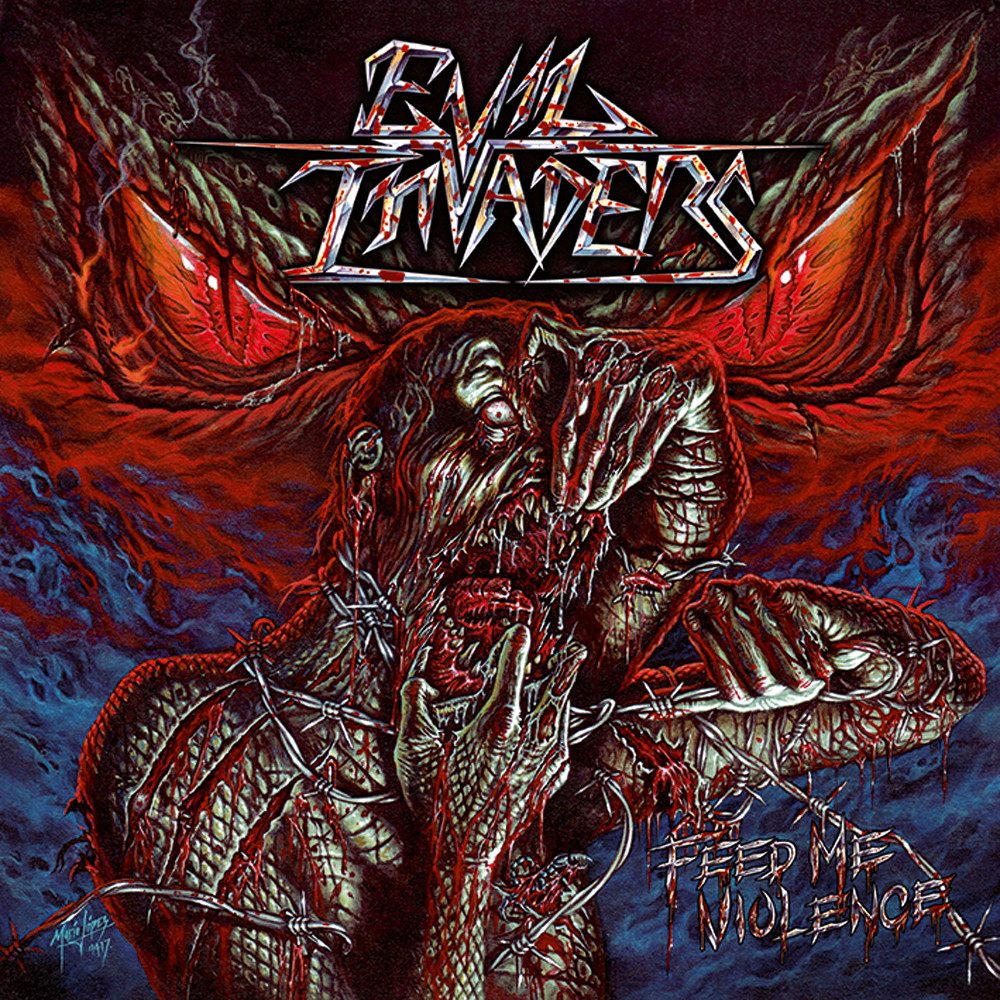 Evil Invaders-2017-Feed Me Violence-F0