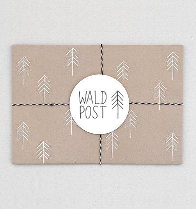 Briefumschlag Set | Wald Post | Natur