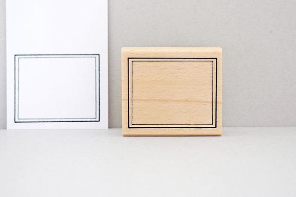 Stempel Etikett | Rahmen