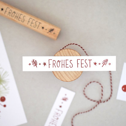 Stempel | Frohes Fest