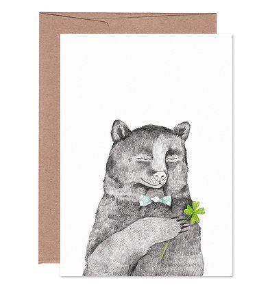 Klappkarte | Bärenglück