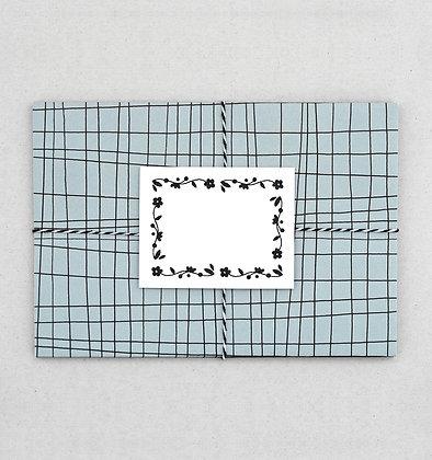 Briefumschlag Set | Lína | Mintgrau