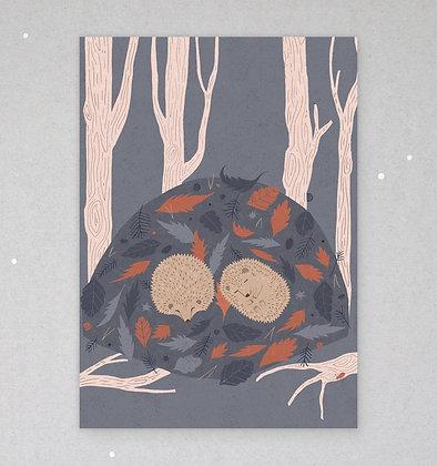Postkarte | Igelträume