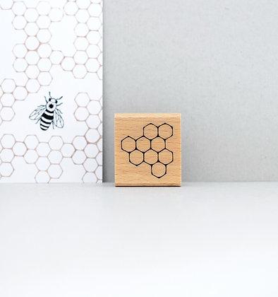 Stempel | Bienenwabe