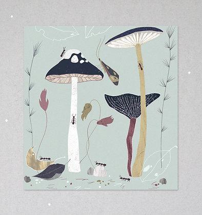 Mini Print | Flora und Fauna