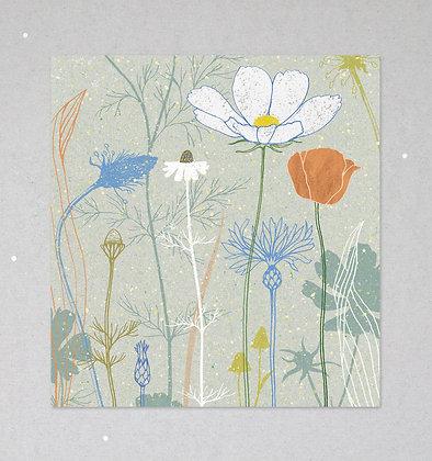 Mini Print   Wildblumen