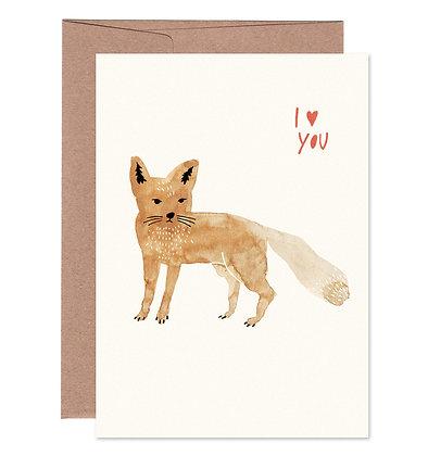 Klappkarte | Fuchs Love