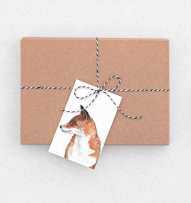 Geschenkanhänger Set | Mrs Fox