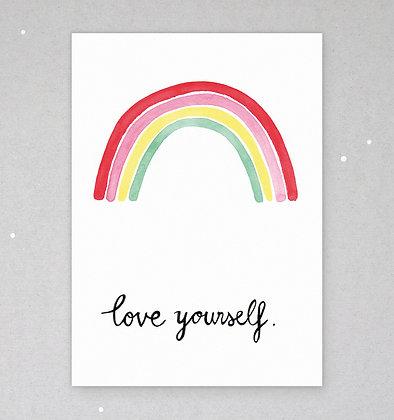 Postkarte | Regenbogen
