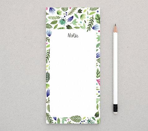 Notizblock | Botanik
