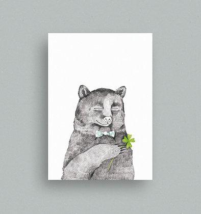 Postkarte | Bärenglück