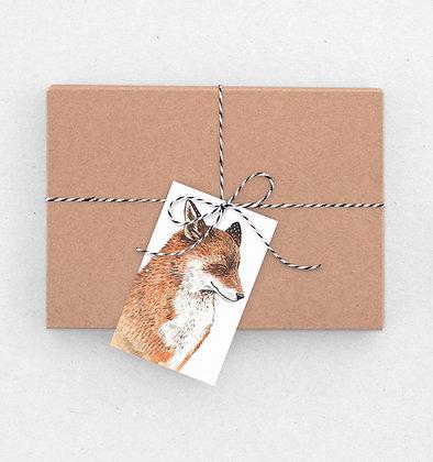 Geschenkanhänger Set | Mr Fox