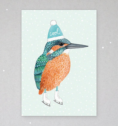 Postkarte | Eisvogel