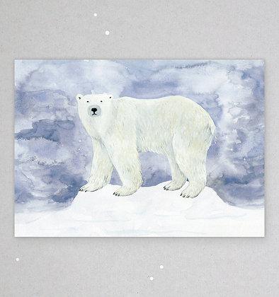 Postkarte | Polarbär
