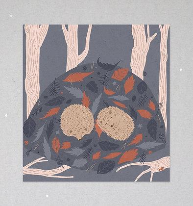 Mini Print | Igelträume