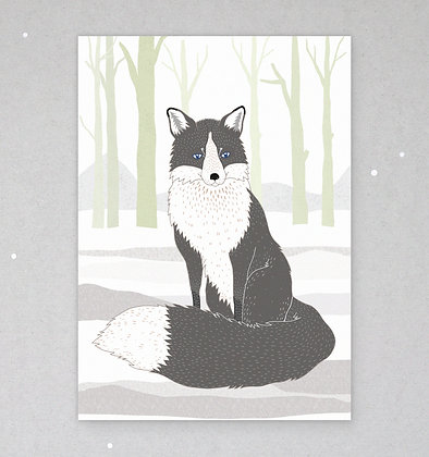 Postkarte | Graufuchs