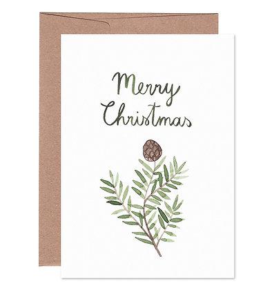Klappkarte | Merry Christmas