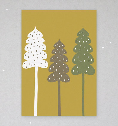 Postkarte | Winterwald