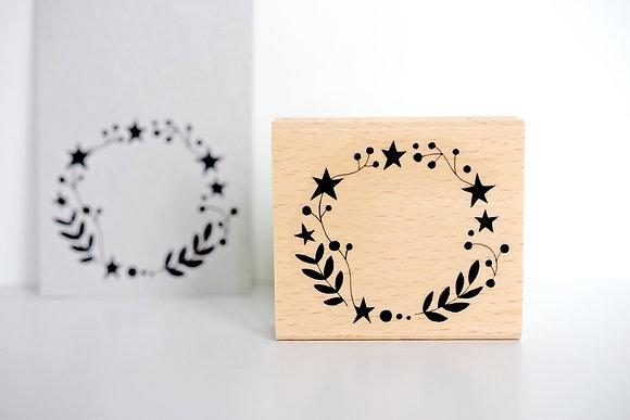 Stempel Etikett | Sternblume