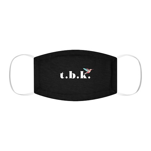 T.B.K. Hummingbird Logo // Snug-Fit Polyester Face Mask