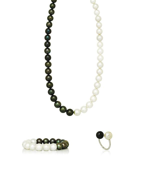 Perle blanche de Tahiti, Perle noire de Tahiti