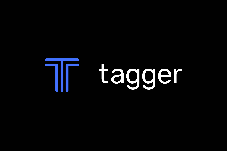 Tagger landing page logos blk