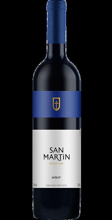 Vinho Merlot Seco San Martin