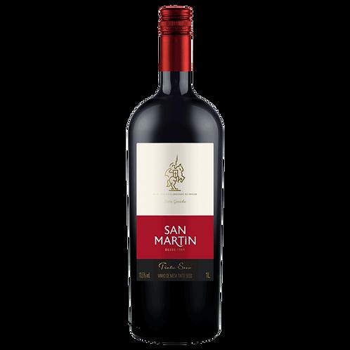 Vinho Bordô Seco 1L San Martin
