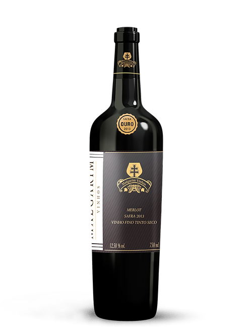 Vinho Malgarim Merlot Ouro