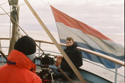 Filming Aboard the Wylde Swan 2 (photo b