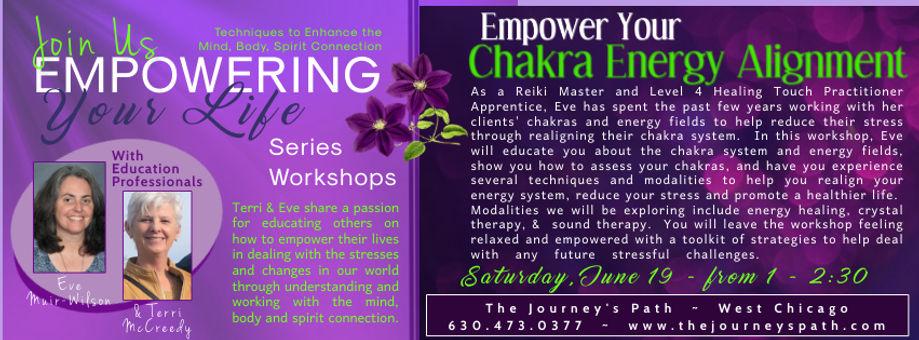 Empower Your Chakra Energy Alginment - M