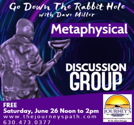 Metaphysical Discussion Group June 2021.