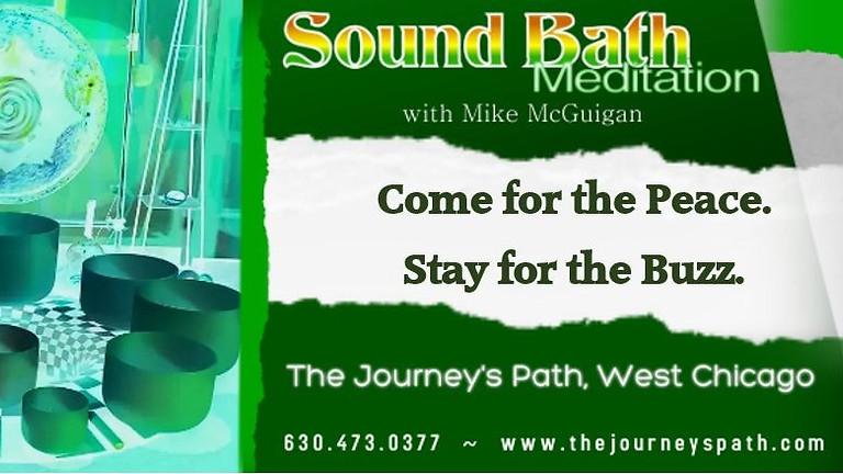 Sound Bath Meditation with Mike McGuigan