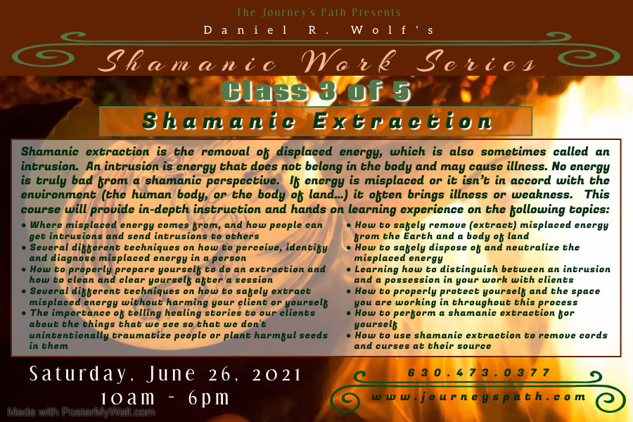 Class 3 Shamanic Extraction - Made with