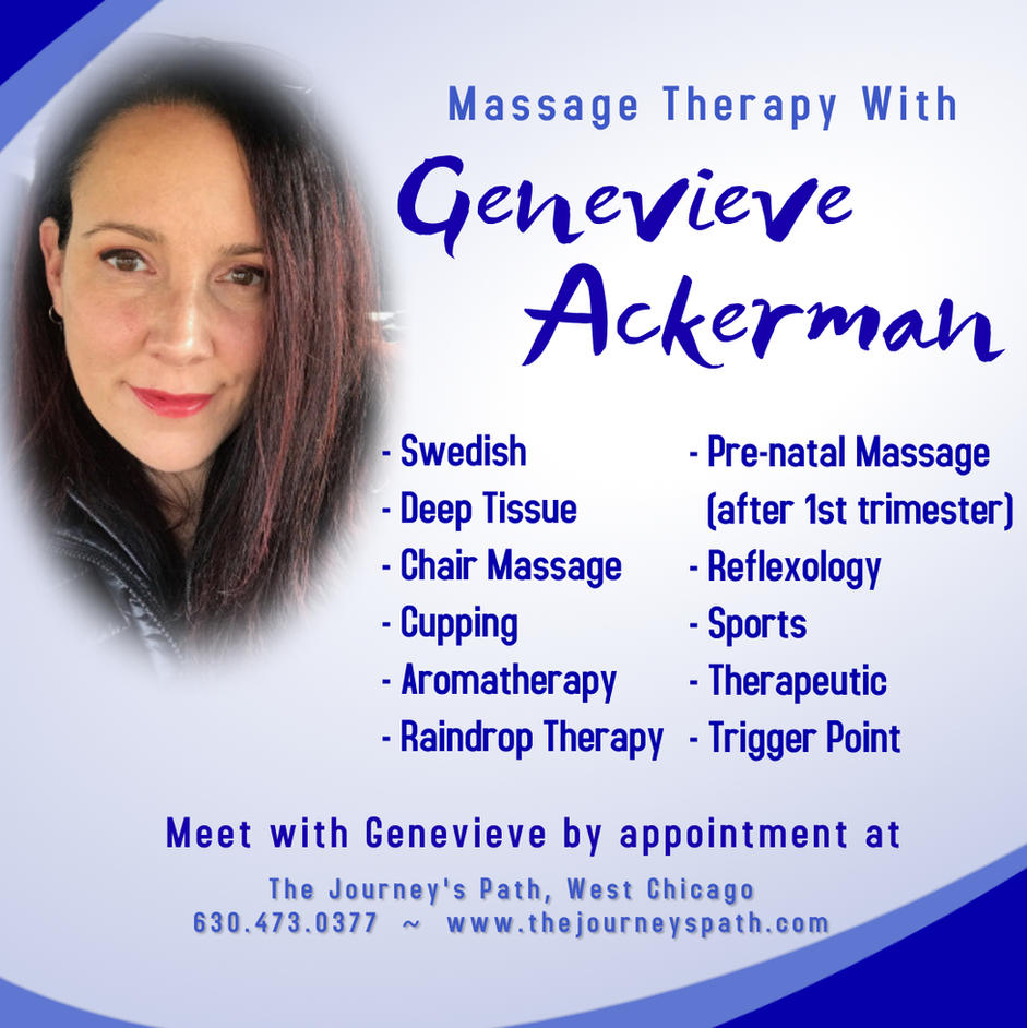 Genevieve Ackerman:  Licensed Massage Therapist