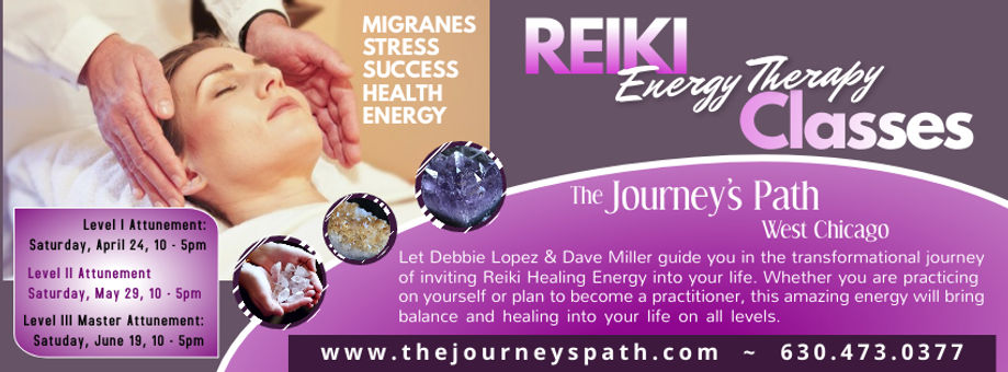 Reiki Classes Flyer - Made with PosterMy