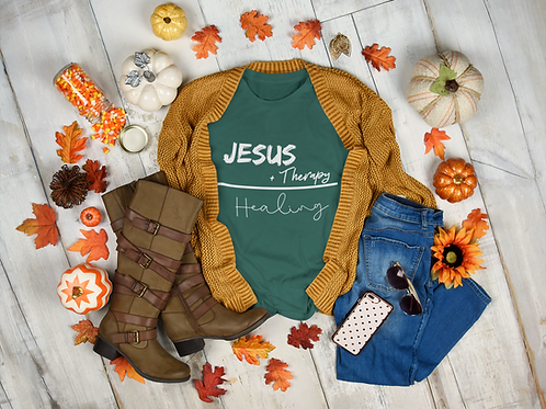 Jesus + Therapy Long-Sleeve