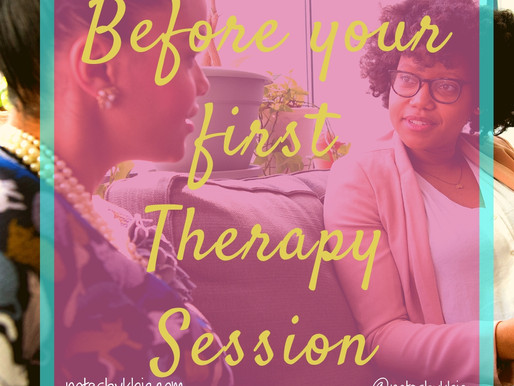 Before Your First Therapy Session