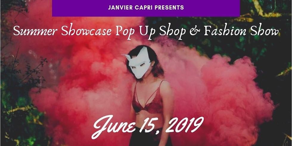 Summer Showcase Pop Up Shop & Fashion Show